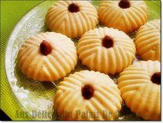 Recette ghribia aux amandes gâteau sec algérien;  Salam allaicom,bonjour Ghribia, Ghribiya, Montécaos ou les Mantecadossont des biscuits sablés parfumés