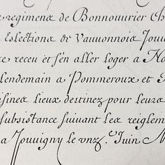 Barbedor, Les Ecritures Financiere, et Italienne-Bastarde, 1647 via tirotypeworks The first half of Barbedor's books is devoted to exemplars of the commercial secretary hand. This is the French forerunner of the better known English commercial roundhands of the 18th Century. Like them, it is an example of a formalised cursive, intended to marry speed of writing with the keeping clear and legible records.