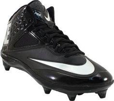 053c5214ec27 Nike Lunar Code Pro 3 4 D Football Cleats - Mens Black Black Grey Mens