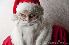 creepy mrs santa claus | Scary santa