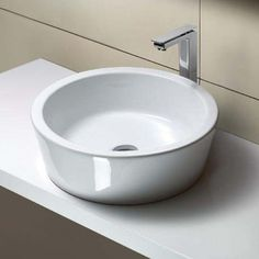 Nameeks GSI 18 Ceramic Vessel Sink with Overflow - Less Faucet Corner Sink Bathroom, Wall Mounted Bathroom Sinks, Bathroom Fixtures, Undermount Bathroom Sink, Faucet, Trough Sink, Pedestal Sink, Modern Bathroom Decor, Home