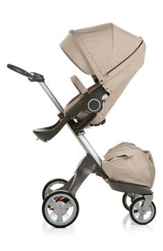 Quite possibly the coolest-looking stroller ever #stokke