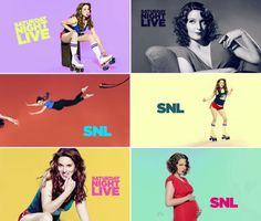 Tina Fey photographed by Mary Ellen Matthews for Saturday Night Live, May 8, 2011