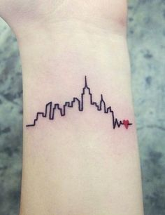 The best tattoos for people whose love of NYC runs deep