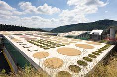 Centre de Tractament de Residus del Vallès Occidental (CRTV) A Vacarisses, Catalunya. Batlle i Roig, arquitectes