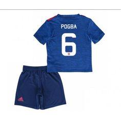 Manchester United Trøje Børn 16-17 Paul #Pogba 6 Udebanetrøje Kort ærmer,199,62KR,shirtshopservice@gmail.com
