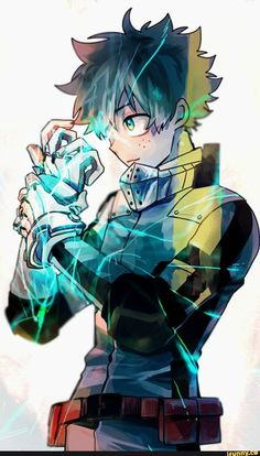 Izuku Midoriya My Hero Academia fanart manga anime Anime Boys, Manga Anime, Fanart Manga, Fanarts Anime, All Anime, My Hero Academia Episodes, My Hero Academia Memes, Hero Academia Characters, My Hero Academia Manga