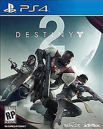 New Sealed Destiny 2 Video Game Hardcopy Retail Disc Sony PlayStation 4 PS4 2017 #Destiny2 #VideoGame