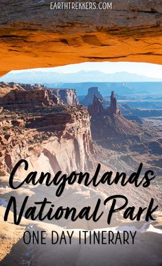 Canyonlands National Park one day itinerary, Island in the Sky District. Best hikes and best views in Canyonlands. via @ Learn how to spend one perfect day in Canyonlands National Park, Island in the Sky district. Capitol Reef National Park, Us National Parks, New Orleans, New York, Tonga, Nationalparks Usa, Utah Vacation, Beach Vacations, Beach Hotels