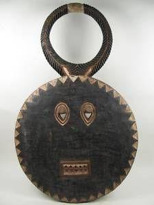 baule art | ... Fine African Art Large Ivory Coast Baule Goli Mask | eBay