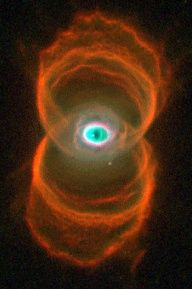 """Nick named """"eye of God"""" nebula. Imagine what the guy thought when he saw this staring back at him thru the telescope!"""
