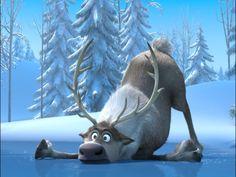 Frozen Sven Falls Wallpaper