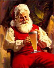 Seems Father Christmas loves real ale too...