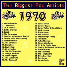 Hit Songs, Music Songs, Upbeat Songs, High School Class Reunion, 1970s Music, 70s Party, Music Hits, Nostalgia, Song List