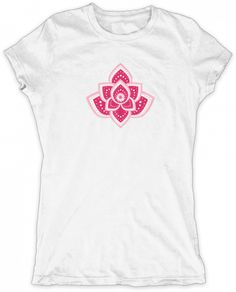 Evoke Apparel - Simple Lotus Womens Graphic T-shirt, $25.00 (http://www.evokeapparelcompany.com/simple-lotus-womens-graphic-t-shirt/)  The lotus flower symbolizes survival. Most believe that the lotus blossom signifies that a dark or trying stage has been overcome. Show your a survivor with this simple lotus graphic womens v-neck.