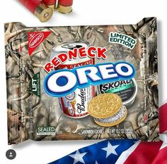 RednEcK OreOs by thatstickerguy Weird Oreo Flavors, Pop Tart Flavors, Cookie Flavors, Gross Food, Weird Food, Fake Food, Funny Food Memes, Food Humor, Funny Relatable Memes