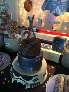 Wow!! What an amazing Star Wars Birthday!! See more party ideas at CatchMyParty.com
