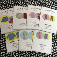 With this latest delivery we are delighted to say we now stock the full range of Tilly and the Buttons patterns. Which will you make first?!!