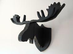 Elandkop 'Harry' van steigerhout | Te koop bij w00tdesign | von w00tdesign | Meubels van steigerhout