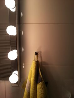 Make a hook for towels
