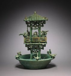 Fowling Tower, 25-220 China, Eastern Han dynasty (25-220)