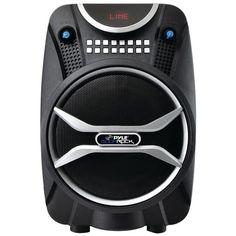PYLE PRO PWMAB210BK Boom Rock Bluetooth(R) Karaoke Speaker & Recording System