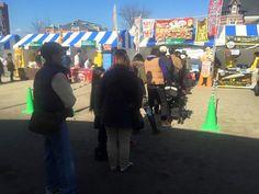 門司港レトロカレーフェスティバルにチキン南蛮カレーで出店!開始前から行列!!