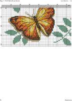"Gallery.ru / haharina20 - Альбом ""-"" Butterfly Cross Stitch, Cross Stitch Flowers, Tapestry Crochet, Stitch 2, Counted Cross Stitch Patterns, Needlepoint, Needlework, Bee, Embroidery"