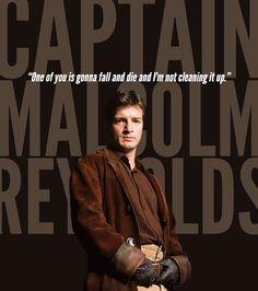 I love Captain Mal.
