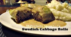 These Cabbage Rolls are a truly Swedish meal. They are tasty, healthy, hearty and fabulous. Great to warm you up on a cold winter's day that is for sure!