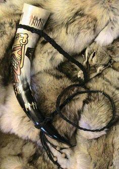 horn on fur