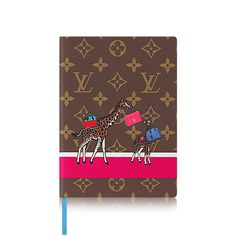 Men's Luxury Christmas Gift - Notebook Clemence Equipee Sauvage MM  Men Books & Writing Writing | LOUIS VUITTON
