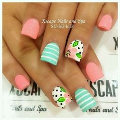 Unique & Cute Inspired Summer Nail Art Ideas That You Will Love !