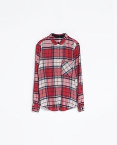 ZARA - CHECKED SHIRT