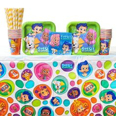 Bubble Guppies Party Pack for 16 Guests - Straws, Dessert... https://www.amazon.com/dp/B01MTKKMX7/ref=cm_sw_r_pi_dp_x_2hYTyb2JST3RS