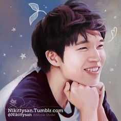 Woohyun speed paint! about 2 hours. I'm SO EXCITED for his solo!! XD