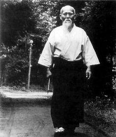 The secret of Aikido, is not how you move your feet, but how you move your mind.   ( Morihei Ueshiba (O'Sensei))
