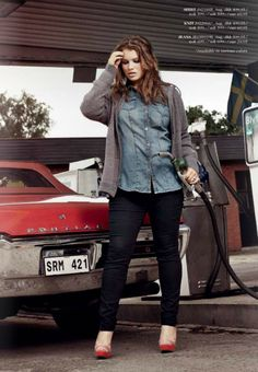 this is how i'd look if i had to pump gas too...