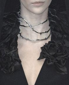 Alexander McQueen thorn necklace