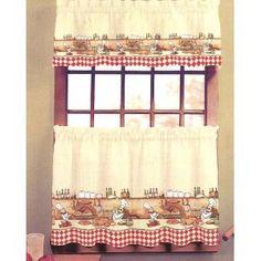 Fruit Kitchen Curtains | Kitchen | Pinterest | Kitchen curtains ...