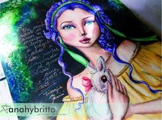 (8) Heart friend. - Anahy Britto in Art Journal & +
