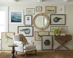 Nice coastal home decor ideas with Coastal Wall Decor DIY