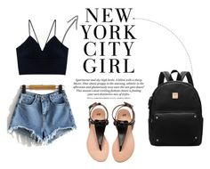 """""""NY Girl"""" by kamila201221 on Polyvore featuring мода"""
