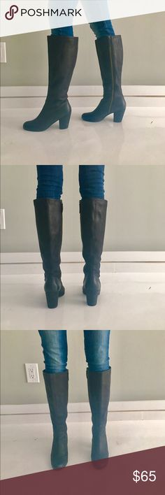 Riding Boots Soft black leather riding boots. Great condition. bp Shoes Heeled Boots
