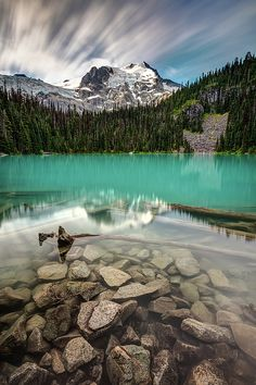 One of my all time best place to go for a hike and take photos reasonably close to home. Joffre Lakes, 3 amazing lakes for the price of one ! This is Joffre Lake Middle, high in the alpine wilderness of British Columbia, Canada