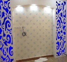 اصباغ نور الهدي بالكويت 51547247كل ما هو جديد في عالم الصبغ والديكور إيطالي ارابيسك فيبر جلاس رسم ورق حائط صبغ ساده برائحة وبدون رائحه بأقل ال Bathroom