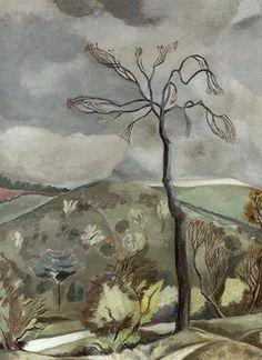 'Autumn Landscape' by Paul Nash, 1923
