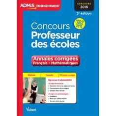 Concours Professeur des écoles, Annales corrigées,  Français et Mathématiques, Annales 2014-2015_0