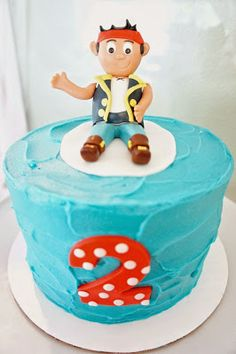 JAKE AND THE NEVERLAND PIRATES CAKE by Half Baked Co.