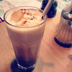Iced coffee at Le Pain Quotidien, Sydney NSW #australia #travel